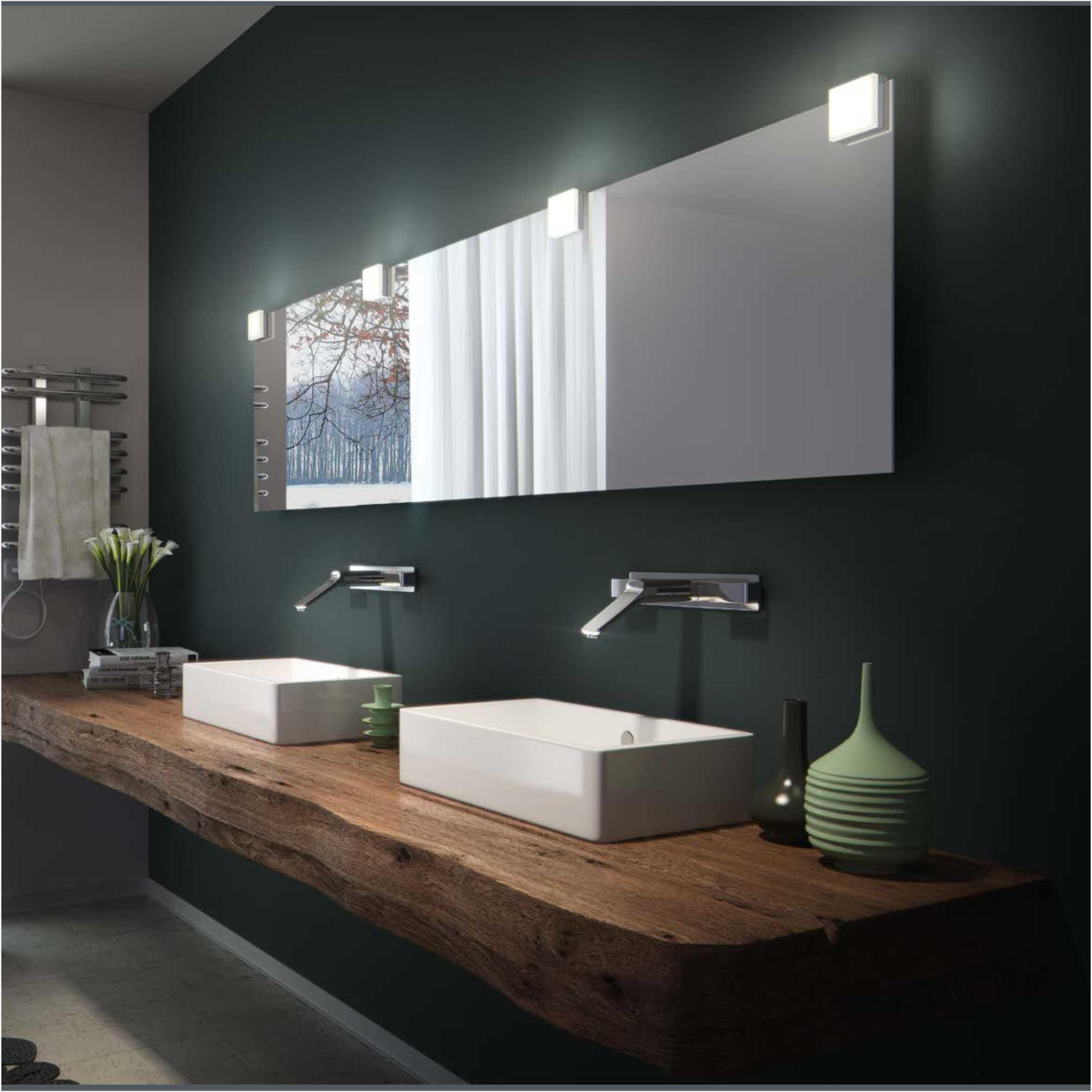 Latest Product Square LED Bathroom Mirror Light 2556