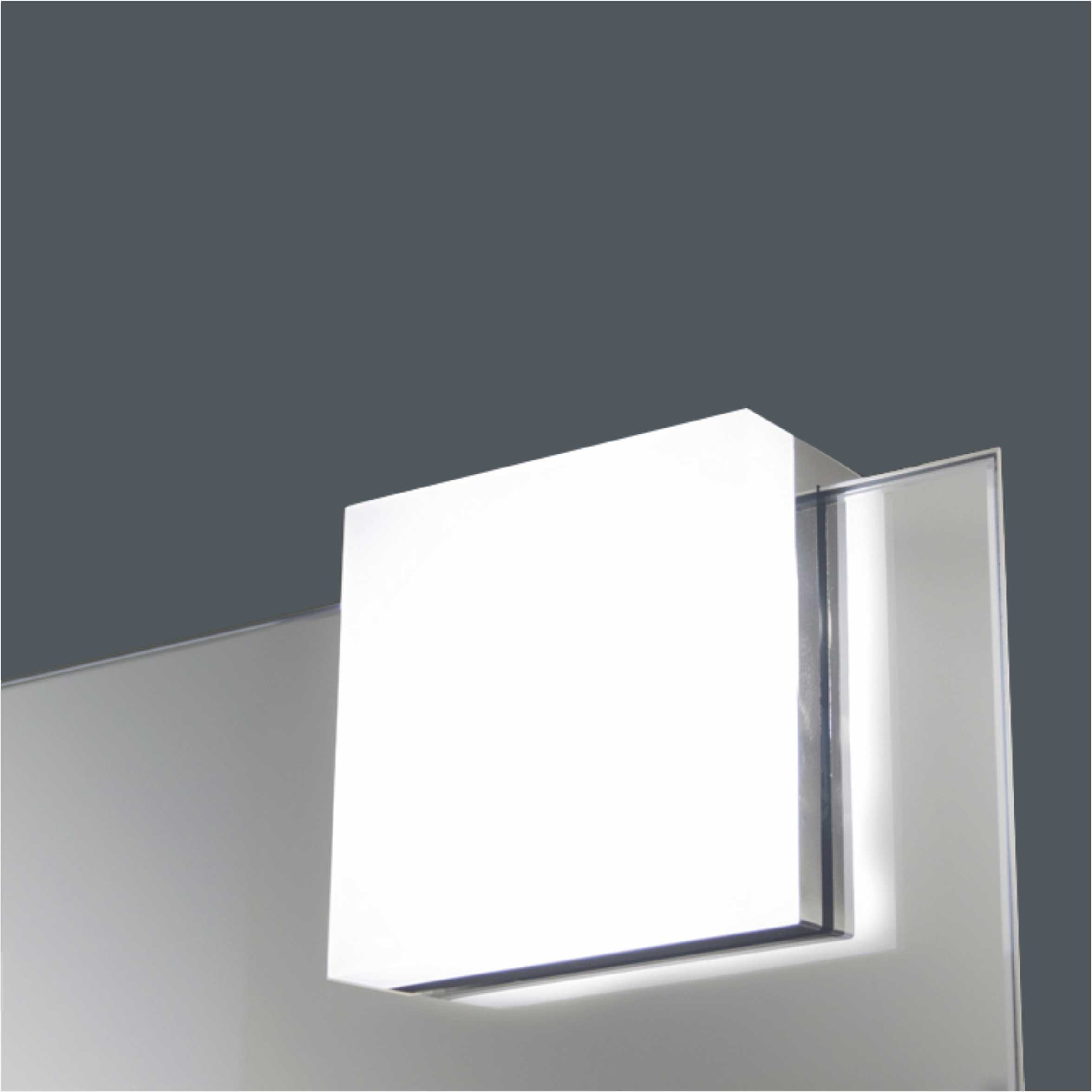 Latest Product Square LED Bathroom Mirror Light 2556