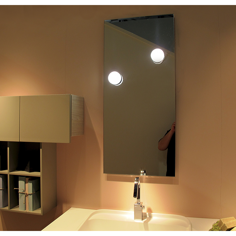 IP44 Waterproof Round LED Bathroom Mirror Front Light 2558