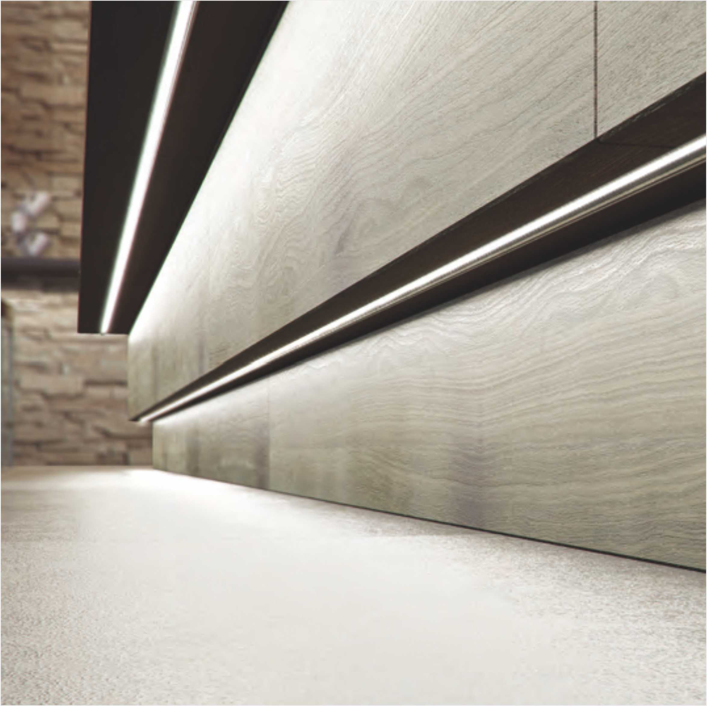Fashion Acrylic Shade 12V Kitchen LED Cabinet Light 2731
