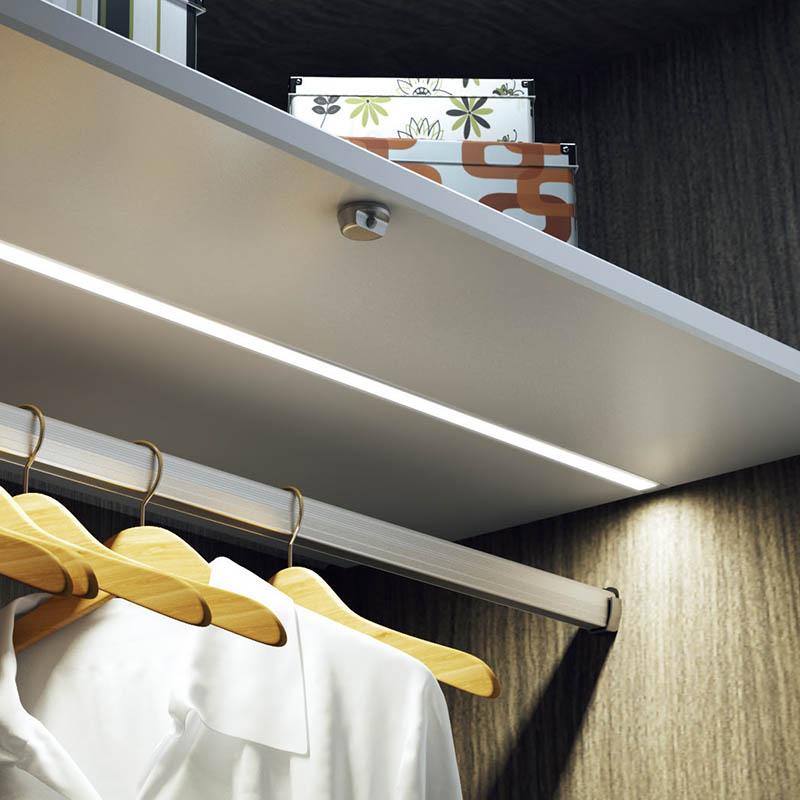 Aluminium Profile 230V LED Strip Under Cabinet Light 2798