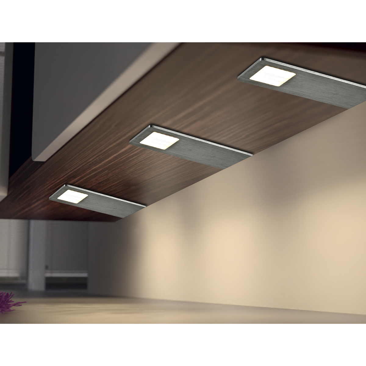 Super Slim LED Quadra Under Cabinet Bar Light 2819