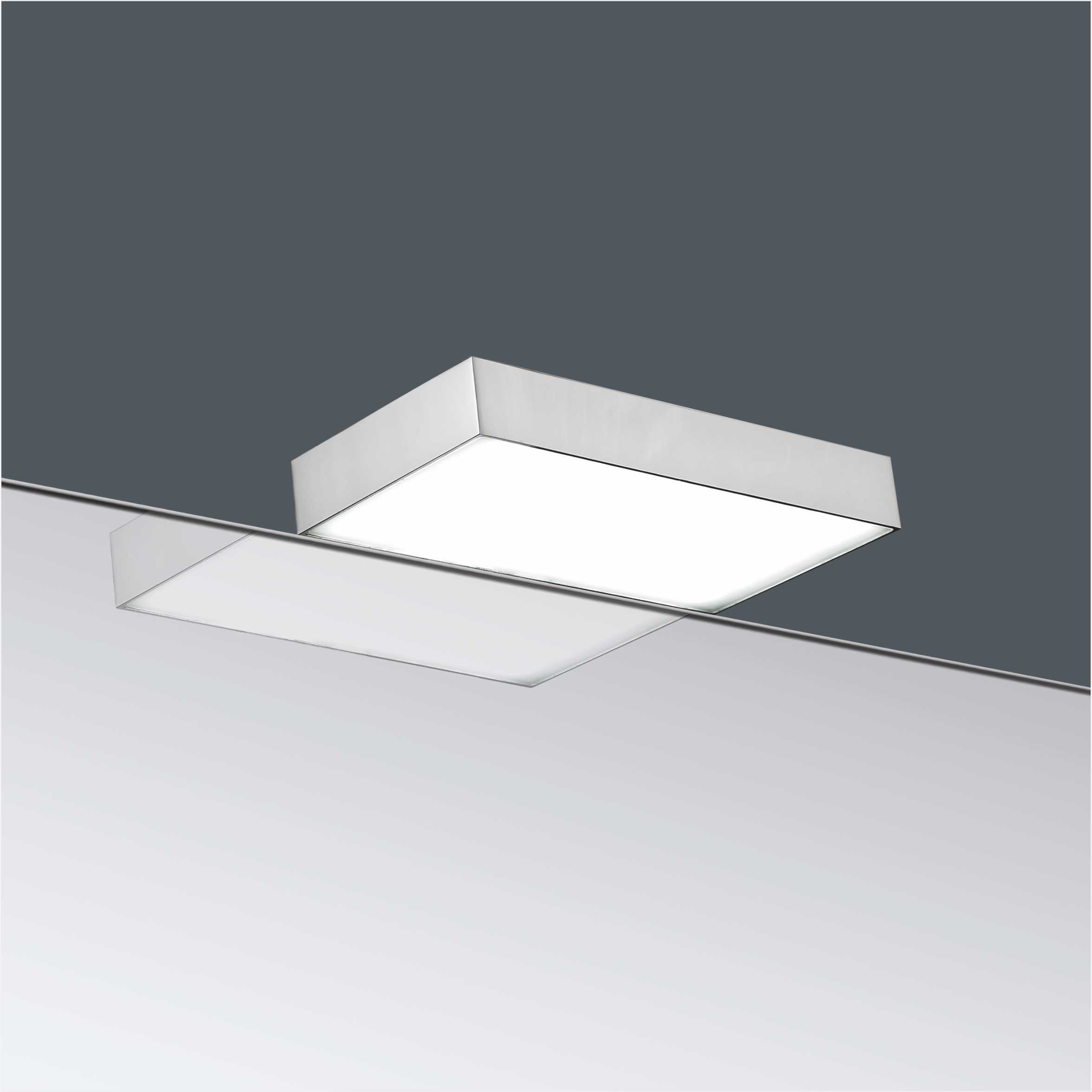 IP44 Rectangular Aluminum 230V LED Bathroom Mirror Light 2976