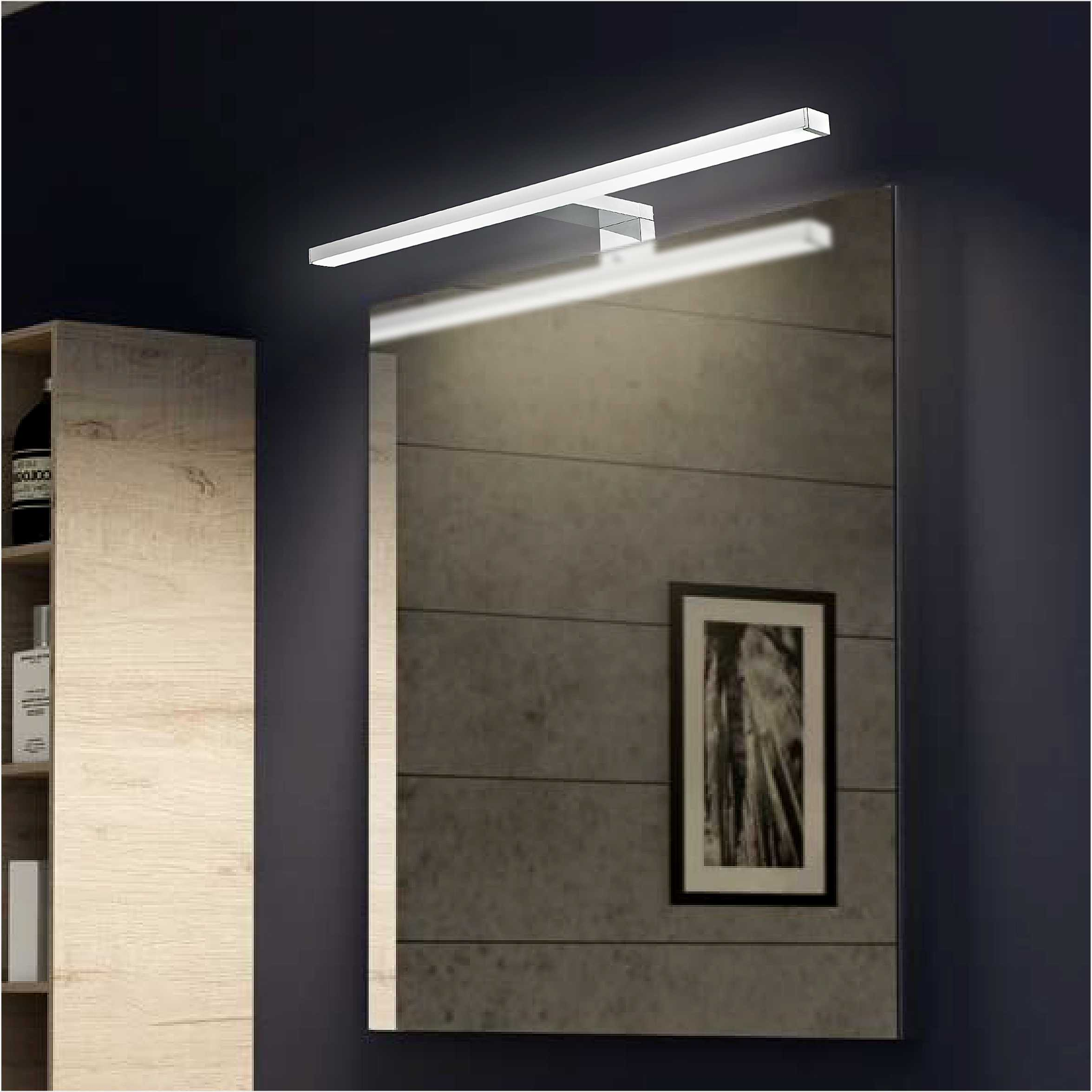 Remote Control Color Changing IP44 LED Bathroom Mirror Light 6366