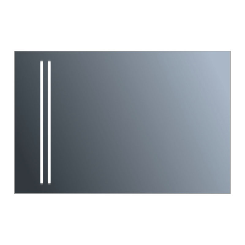 Factory Direct Sale LED Illuminated Rectangular Bathroom Mirror for Make Up 6699