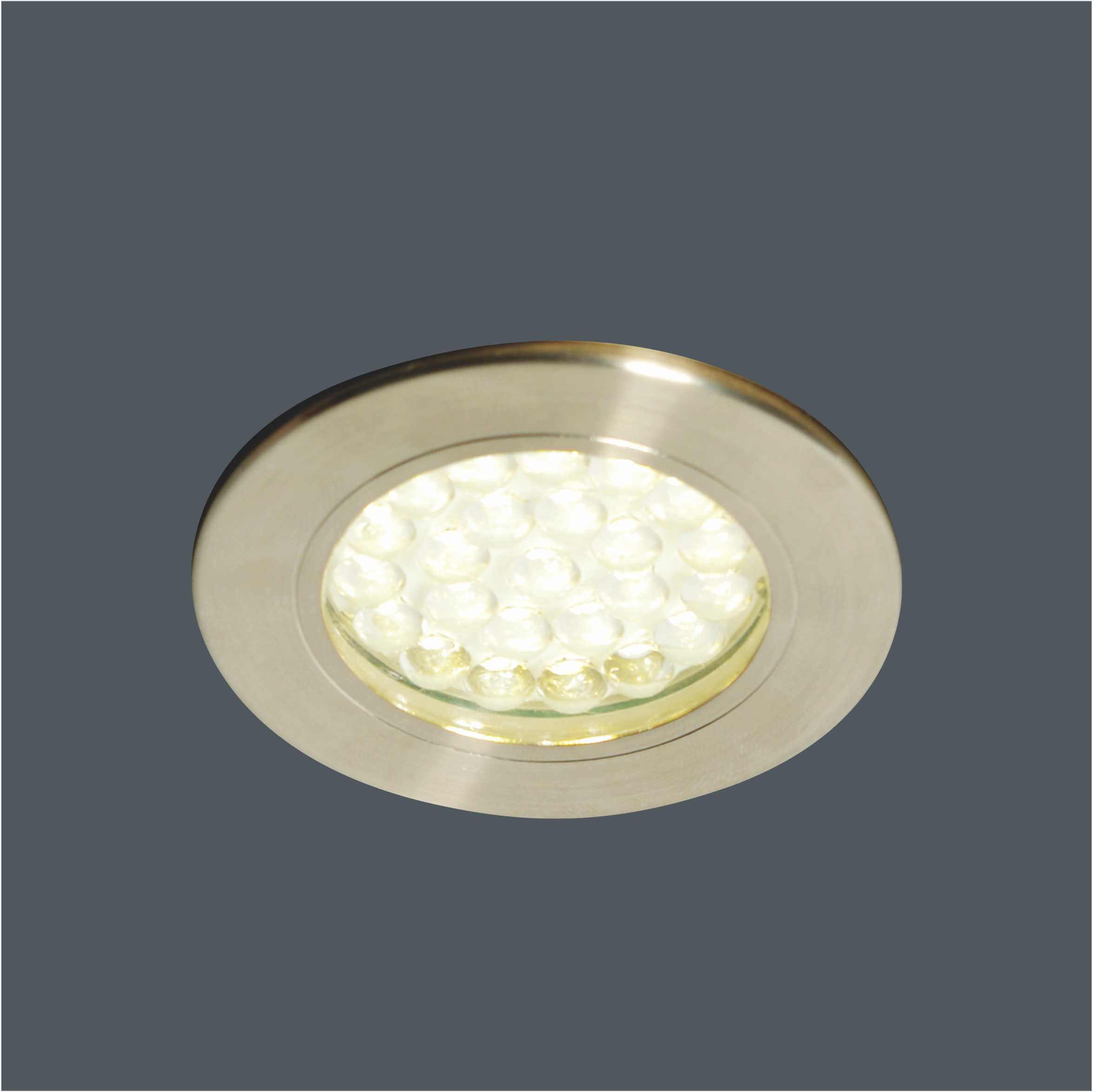 IP44 Recessed Round Mains Voltage 230V LED Bathroom Ceiling Down Light 6730