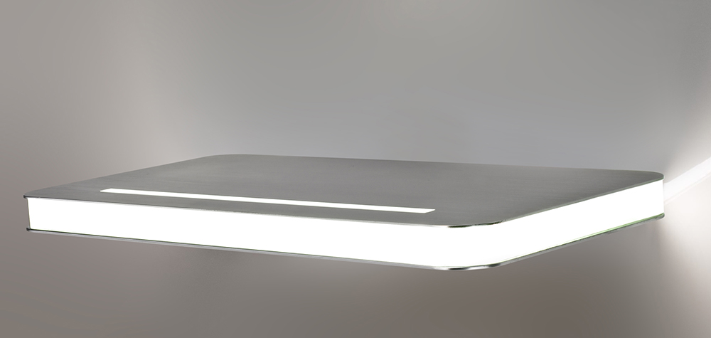 Contemporary Style Direct-indirect Light Aluminium Wall Lamp 6798