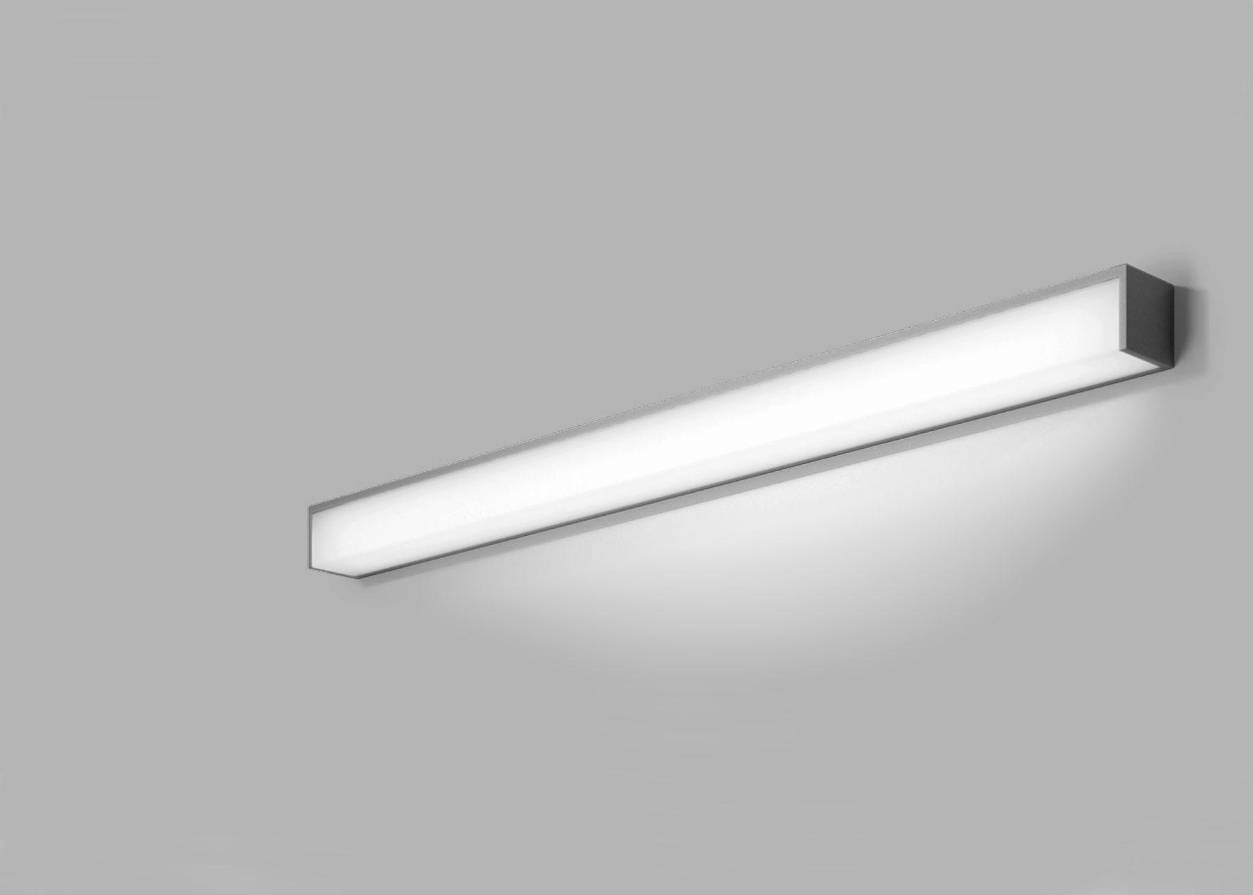 Author 6990 Modern IP44 Linear LED Chrome Wall Mirror Light