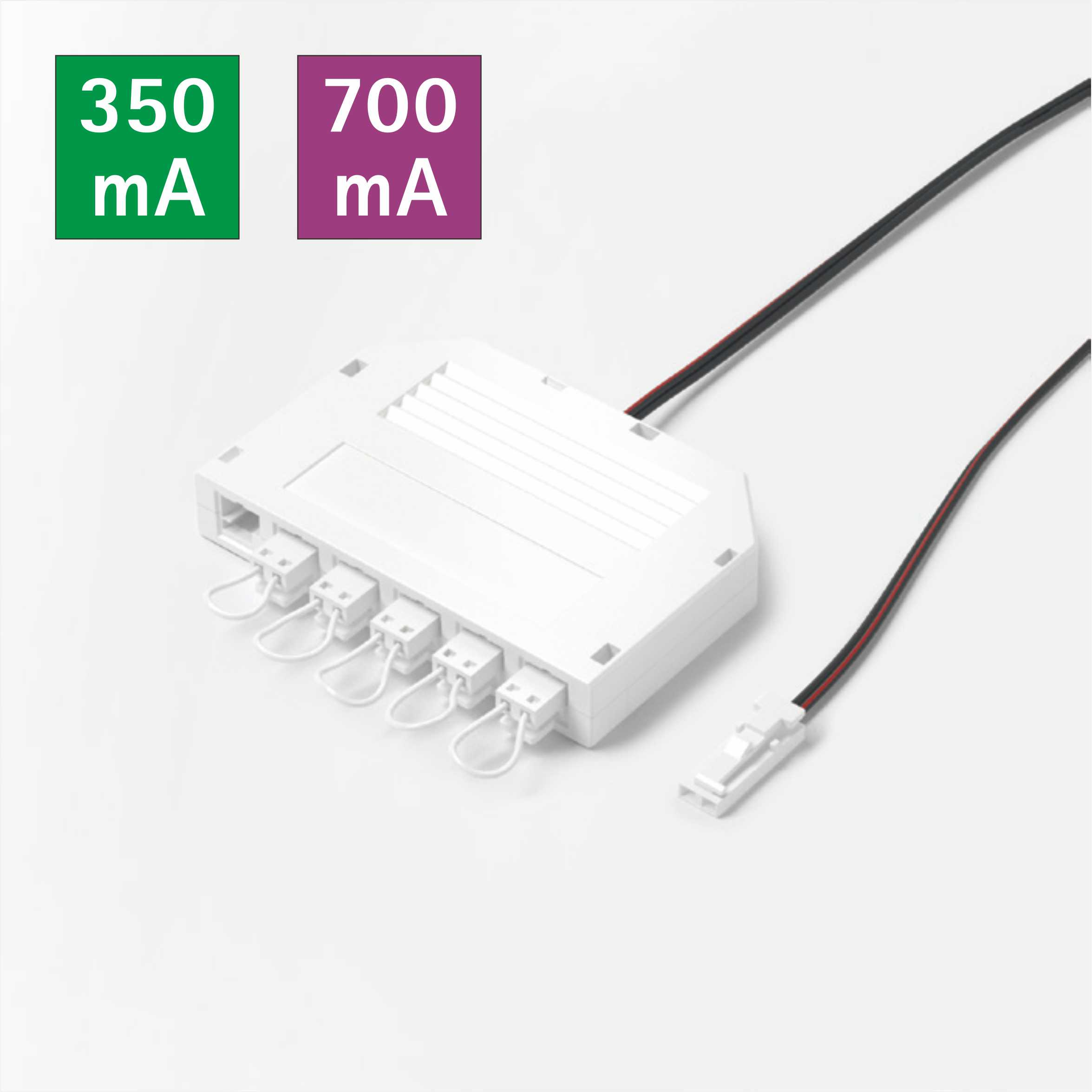 350mA/700mA LED Mini 6-Way Distributor for Constant Current Lightings 9518.061