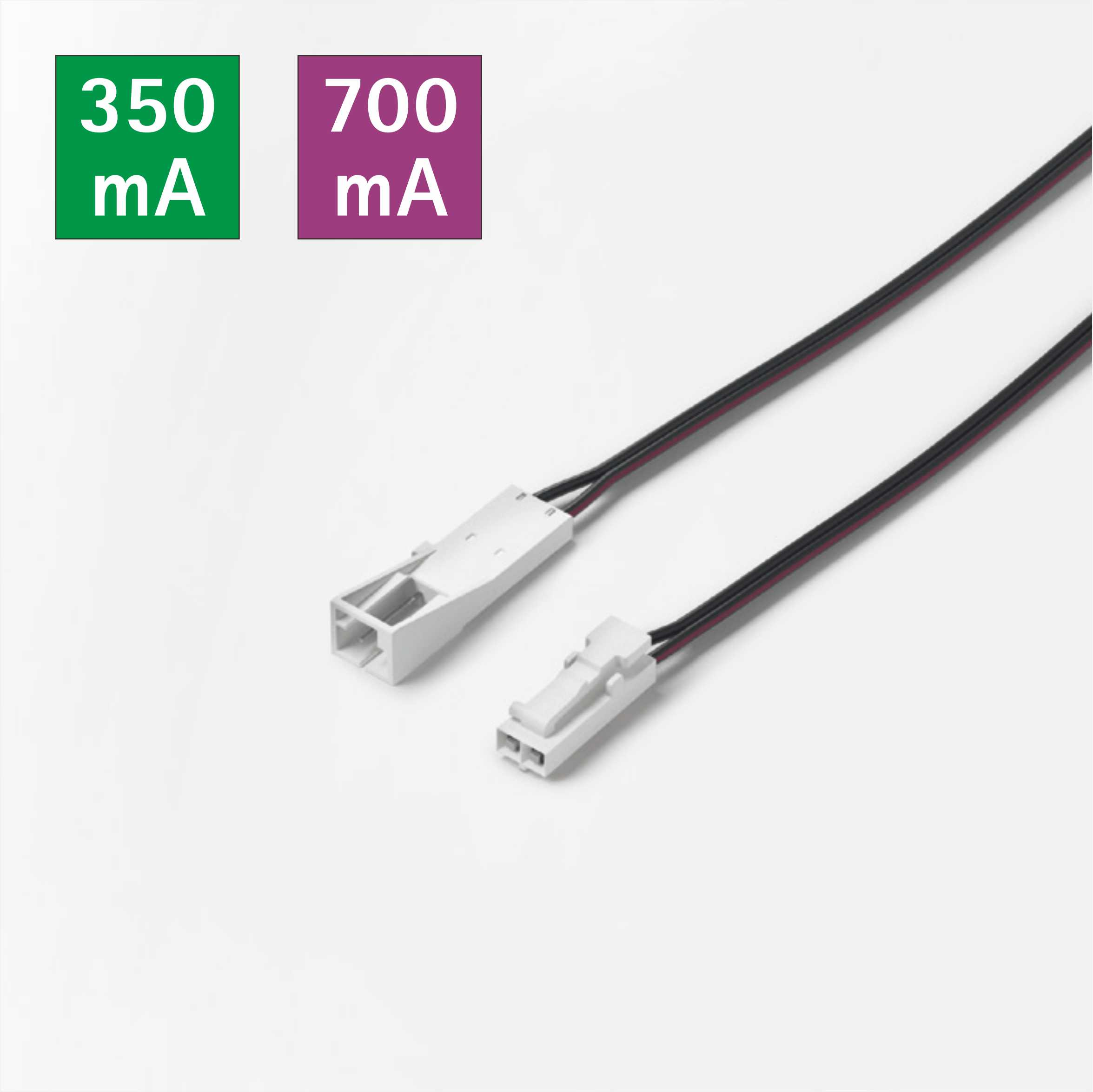 Male-Female Dupont Housing 1800mm Connecting Cable For Constant Current Lightings 9535.181