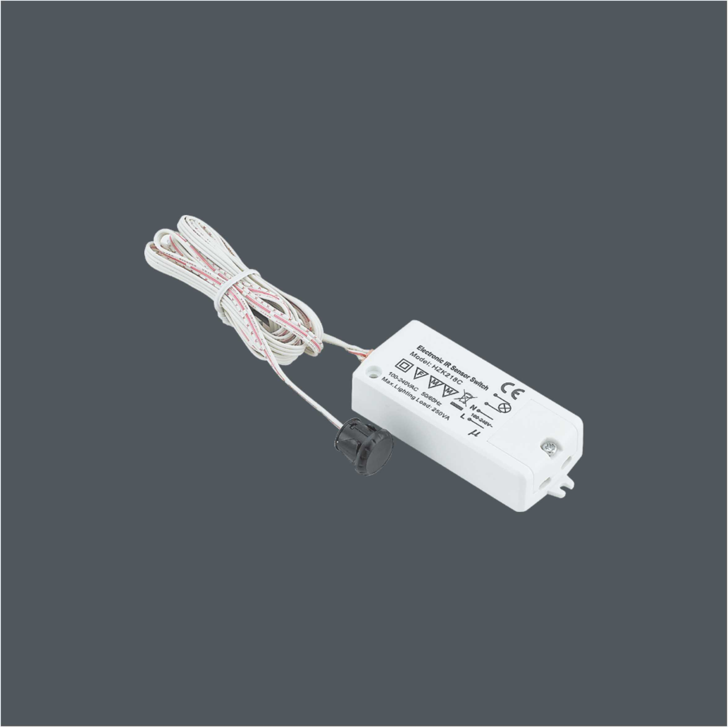 High Voltage Input IR Sensor Switch For LED Light 9615