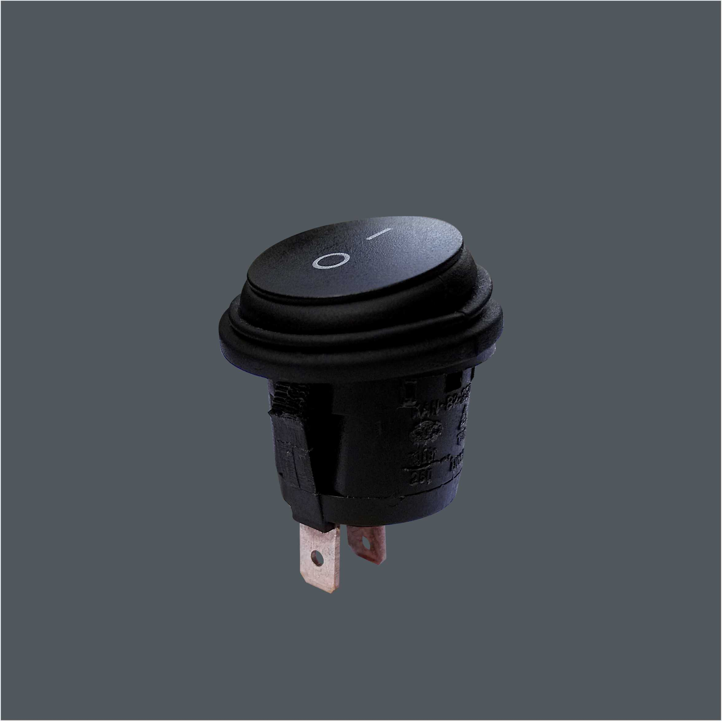 IP65 Flat Round Push Button Switch 9619